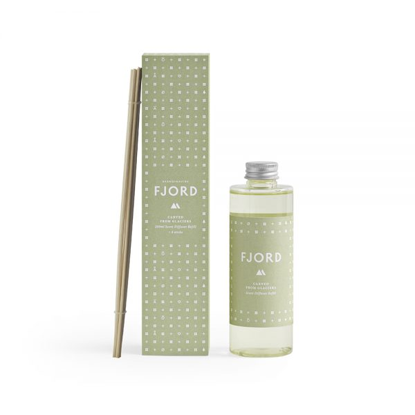 Refill til duft diffuser - FJORD 200ml